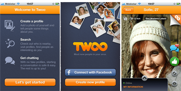 twoo dating site login