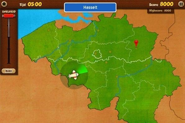 Topo-Belgie