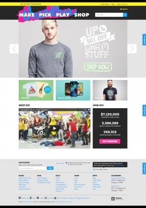 20130221Threadless homepage