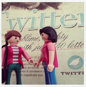 vrouwen socialer op twitter
