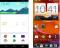 Links: SF, geinspireerd op Google Now. Rechts: Sense van HTC.