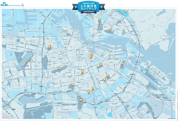 must see map klm