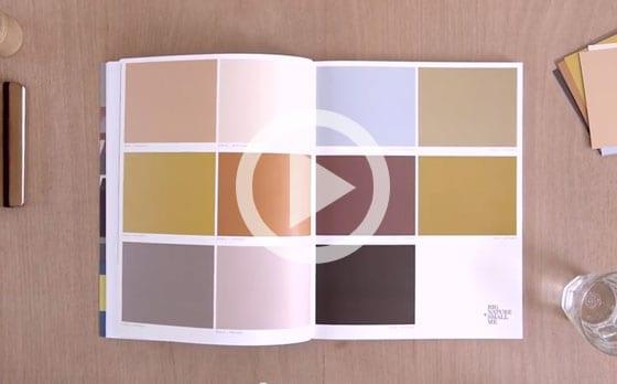 Kleurbalans. Bekijk video op youtube.