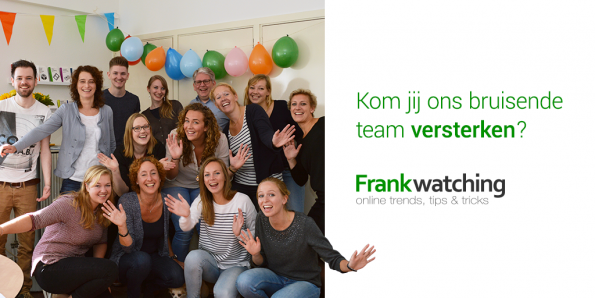 Vacatures Frankwatching