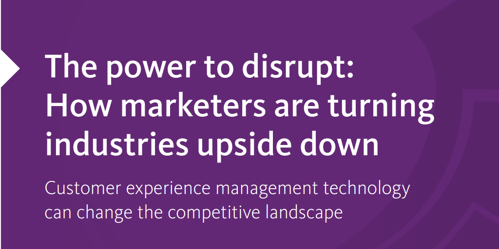 The power to disrupt