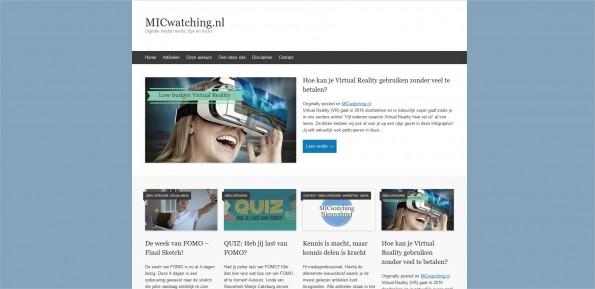 MICwatching.nl Digitale media trends, tips en tricks - Mozilla Firefox