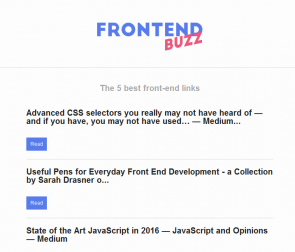 front-end-buzz