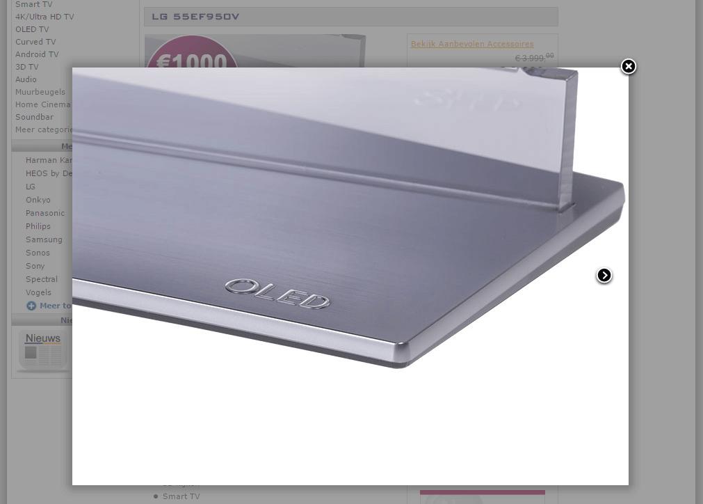 PlatteTV productafbeelding detail