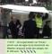 WhatsApp tijdens de 11stedenzwemtocht van Maarten van der Weijden in 2018 over de doorkomst in Franeker.