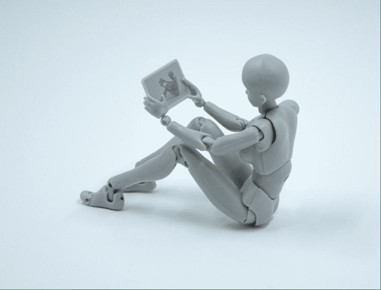 AI content, werk wordt gedaan door robots